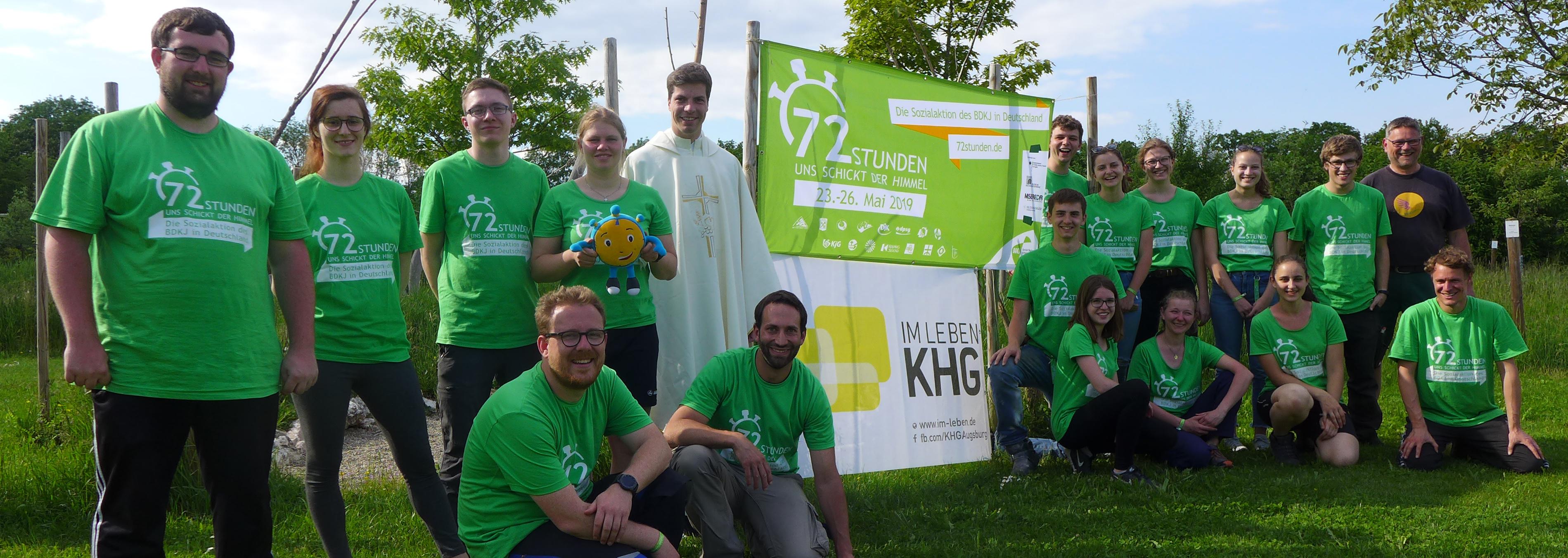KHG-Team mit voller Energie bei 72-Stunden-Aktion